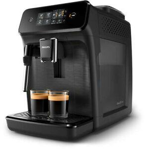 Philips Kaffeevollautomat EP1220/00 (1.8l Wassertank, 12-stufiges Keramik-Scheibenmahlwerk, Milchaufschäumer) | Neuware in beschädigter OVP