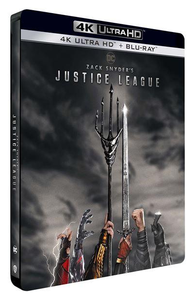 Zack Snyder's Justice League Steelbook (4K Ultra HD) (inkl. deutscher Tonspur) + Blu-ray (ohne deutsche Tonspur) Vorbestellung zum 9. Juni