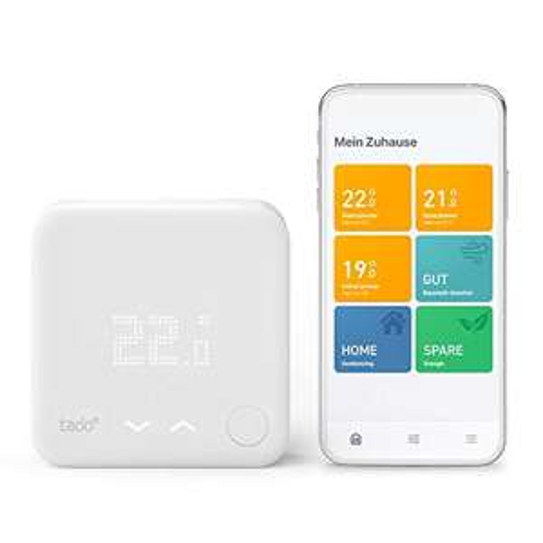 [Amazon oder Saturn/MM] tado° Smartes Thermostat (Verkabelt) Starter Kit V3+ - Intelligente Heizungssteuerung, Einfach zu installieren