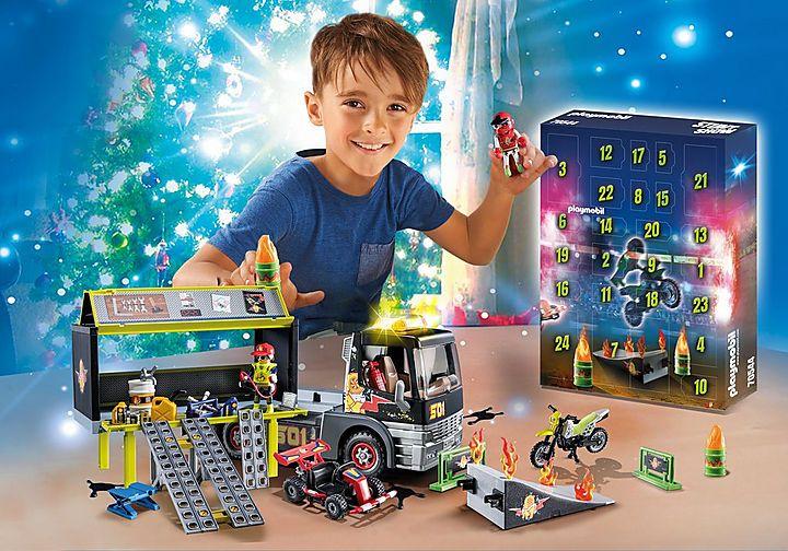 Playmobil XXL-Adventskalender Stuntshow Produktnr.:70544
