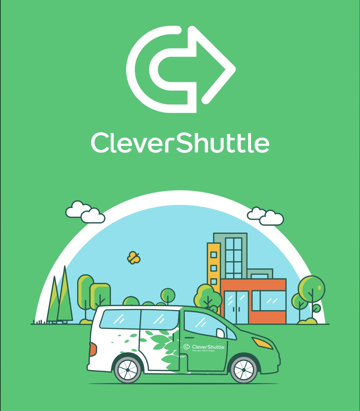 [Lokal - Düsseldorf] CleverShuttle 20% Rabatt Mo-Fr 9-17 Uhr