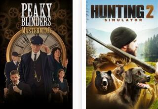 Hunting Simulator 2 und Peaky Blinders: Mastermind (Xbox One) kostenlos spielen dieses Wochenende (Xbox Live Gold)