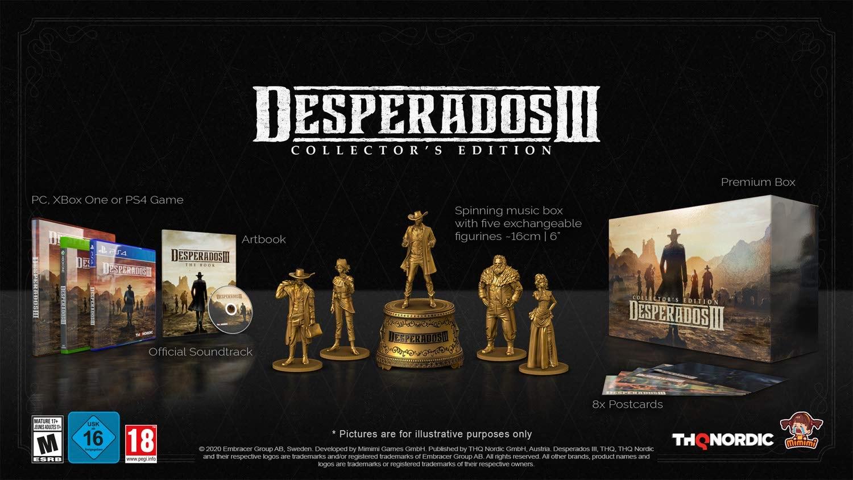 Desperados 3 Collectors Edition (Playstation 4)