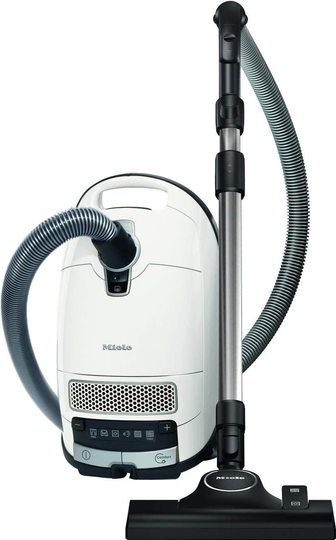 MIELE S 8340 PowerLine Staubsauger (maximale Leistung: 890 Watt, Lotosweiß) [MediaMarkt & Saturn]