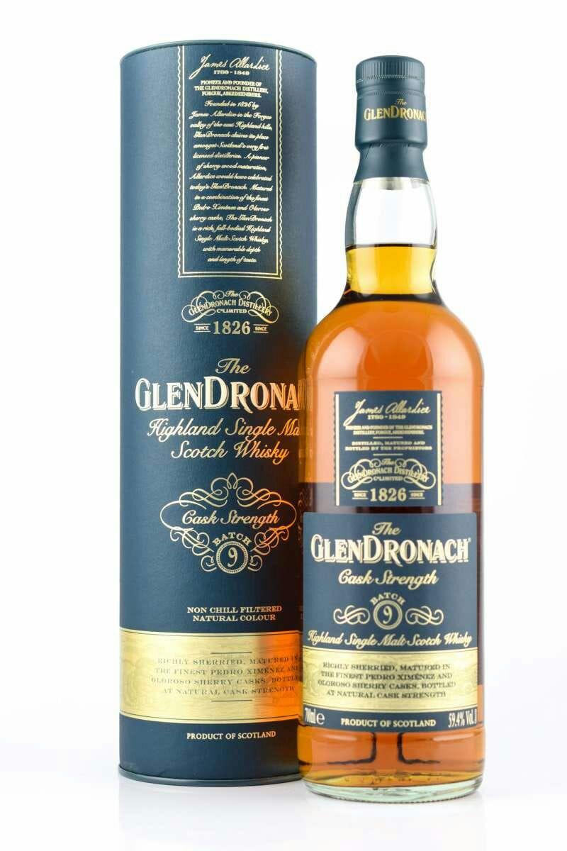 Glendronach Cask Strength Batch No. 9 Whisky