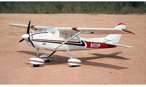 Amewi 24061 Air Trainer ST 1500, brushless RC Motorflugmodell PNP 1500 mm, Cessna 185, Weiß-Rot [Amazon]