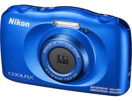 Nikon Coolpix W150 in blau perfekt für Kinder bis 10 Jahren
