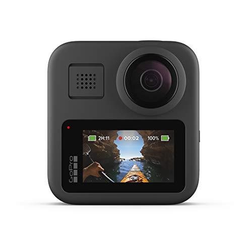GoPro Max 360 Grad Actioncam mit 5.6K, Stabilisierung, Touchscreen und Sprachsteuerung für 414,50€ (Amazon.es)