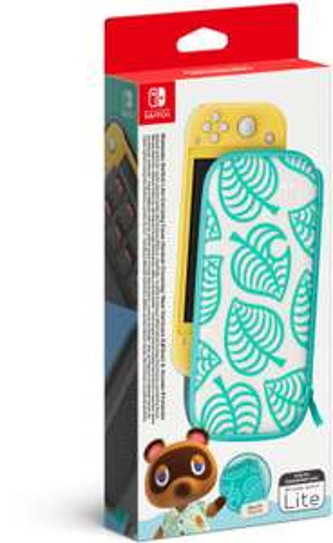 Nintendo Switch Lite Tasche & Schutzfolie - Animal Crossing: New Horizons Edition