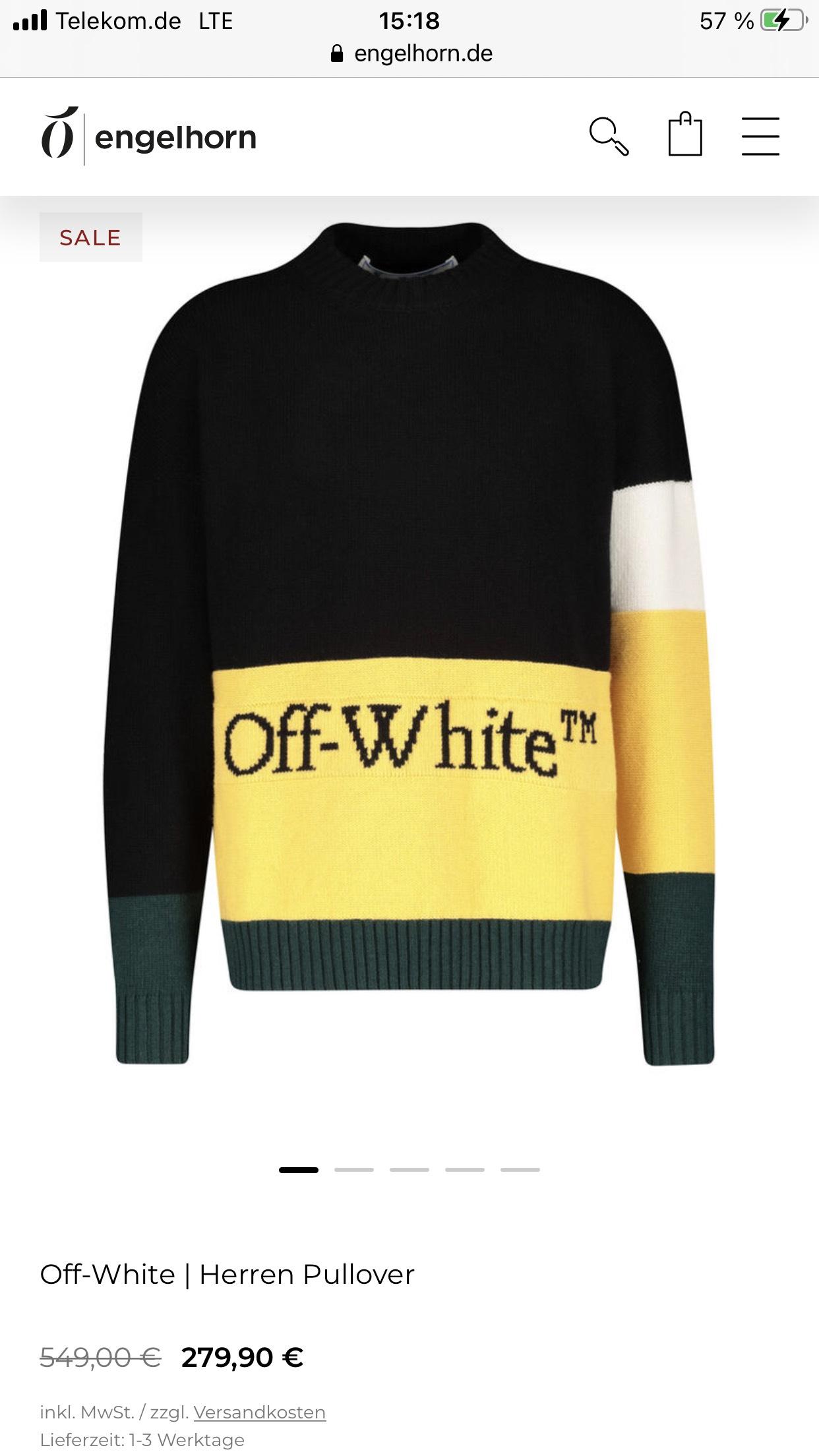 Off White Herren Pullover