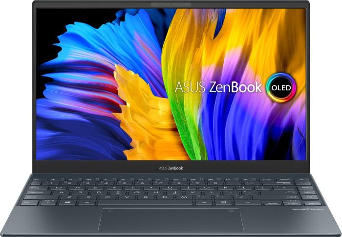 "ASUS ZenBook 13 OLED UX325EA-KG327T (13.3"", FHD, 400cd/m², 100% DCI-P3, i5-1135G7, 16/512GB, 2x TB4, HDMI 2.0, 67Wh, Win10, 1.07kg)"
