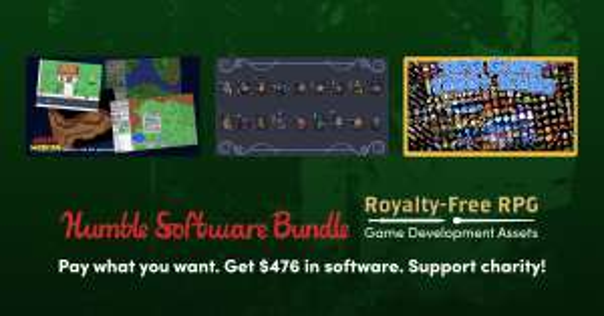 [humble bundle] Royalty-Free RPG Game Development Assets