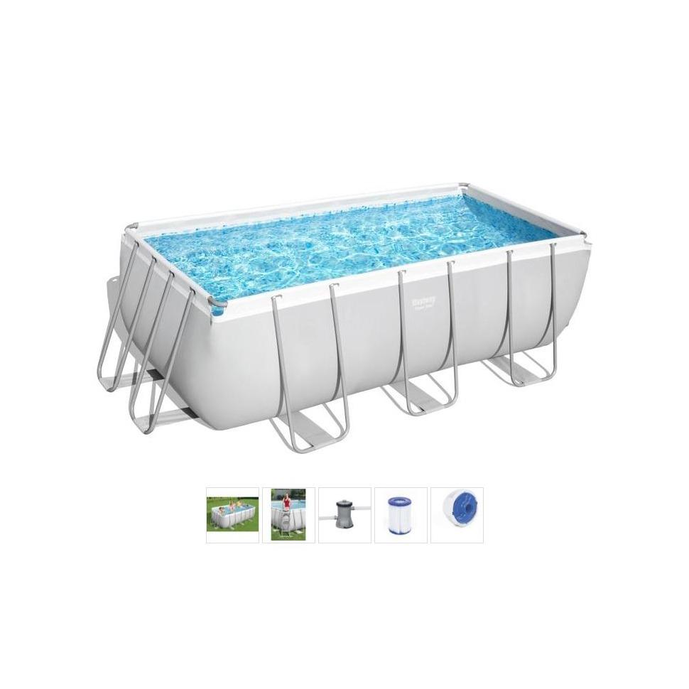 Bestway Frame Pool Power Steel Set 412 x 201 x 122 cm ab 10.5. @ Centershop (Abholung)