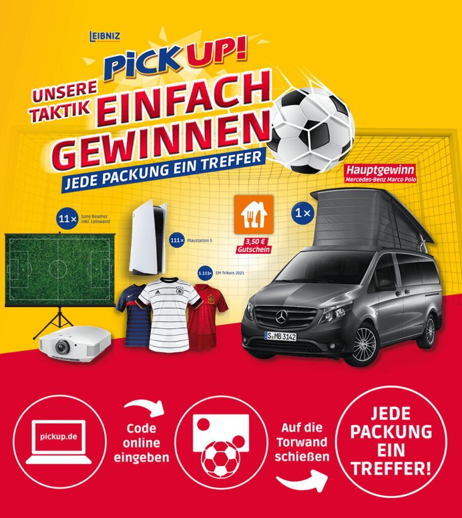 3,50€ Lieferando Gutscheine auf Pickup Aktionspackungen (ab 8€ einlösbar)