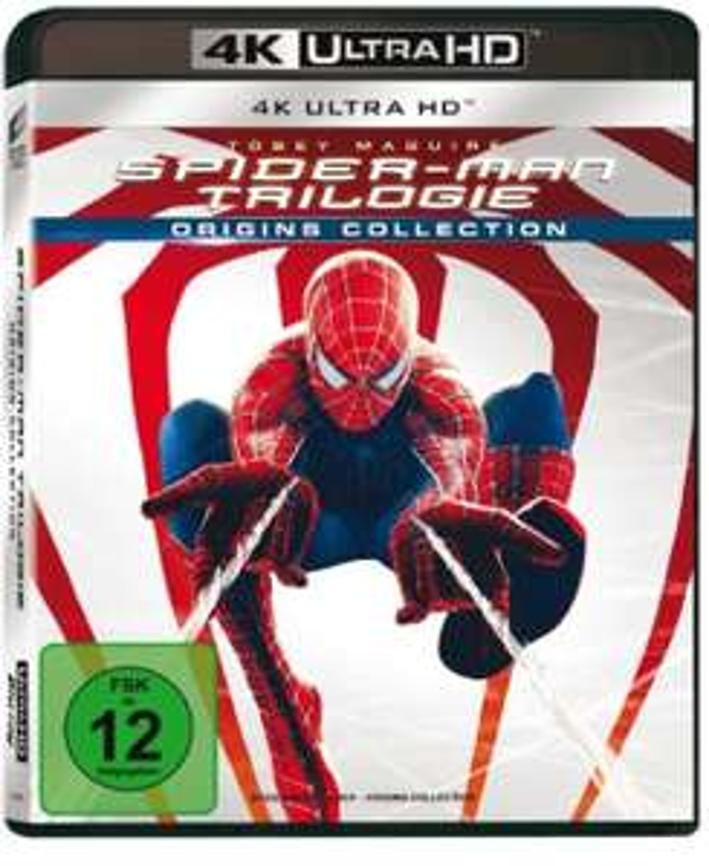 Spider-Man Origins Collection Trilogie 4K Ultra HD UHD Blu Ray