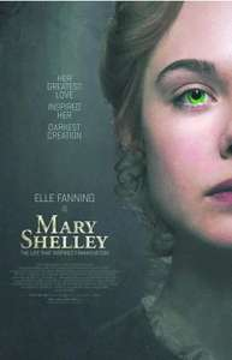 """[Servus TV Mediathek] """"Mary Shelley - Die Frau, die Frankenstein erschuf"""" mit Elle Fanning und Maisie Williams kostenlos streamen [IMDb 6.4]"""