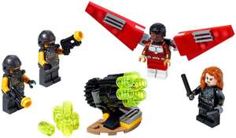 LEGO® Super Heroes 40418 Falcon™ und Black Widow