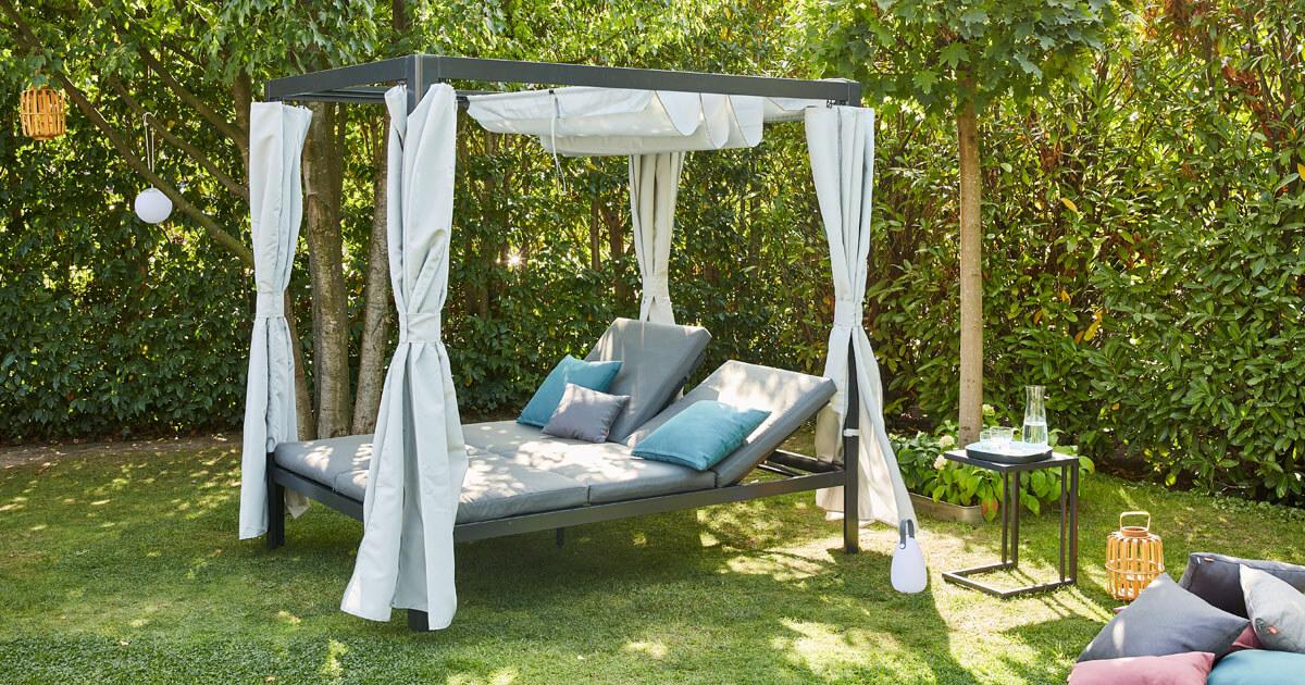 Siena Garden Waikiki Loungebett 206 x 150 cm