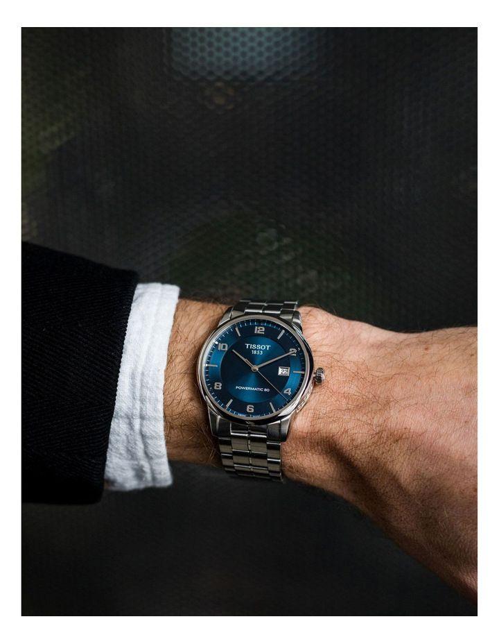 "Tissot T-Classic ""Luxury"" Dresser Automatikuhr - 41mm - Powermatic 80 - Doppelt entspiegeltes Saphirglas - Sonnenschliff"