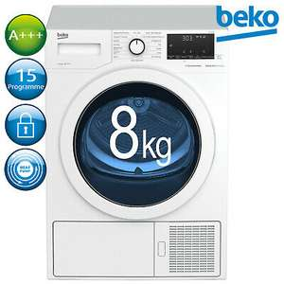 [ebay] Beko Wärmepumpentrockner A+++ 8kg DH85T6GXV Wäschetrockner für 395,91€