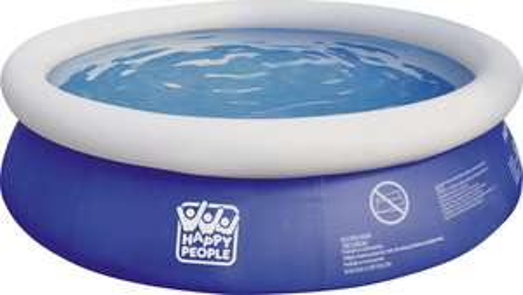 Happy People, Baby-Pool, Quick-Up Pool, 240 x 63cm (bei Abholung nur 24,99)