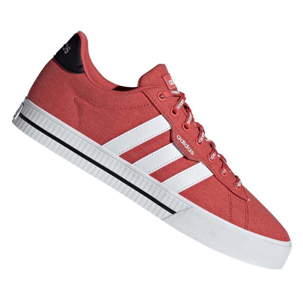 adidas Freizeitschuh Daily 3.0 in rot/weiß (Gr. 39 1/3 - 48)