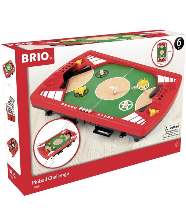Zeit zum Flippen - BRIO 34019 Flipper – Pinball als Holzspielzeug