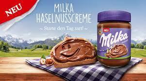 Milka Haselnusscreme (Palmölfrei), das 350g-Glas für 1,79 Euro [REWE Center]