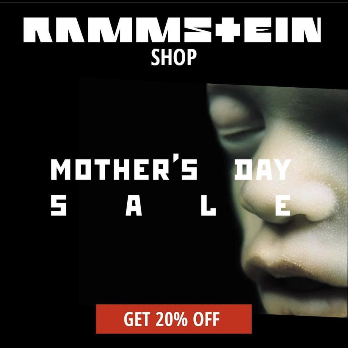 RAMMSTEIN Shop 20% auf Damenbekleidung & Schmuck