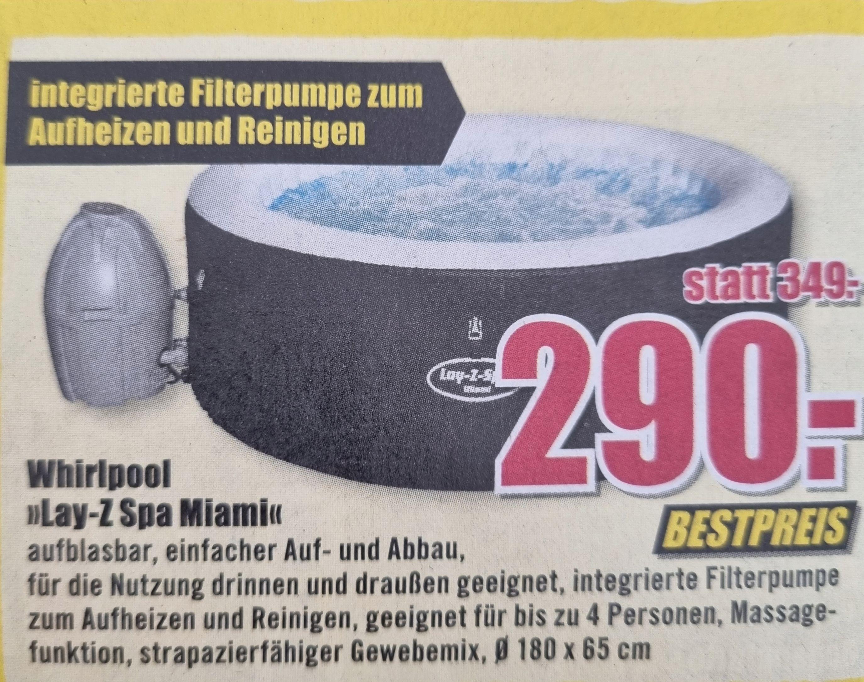 "Whirlpool ""Lay-Z Spa Miami"" [B1 Baumarkt]"