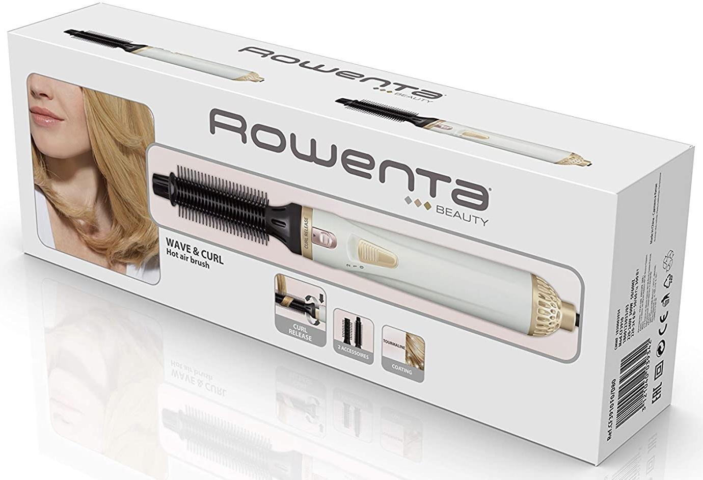 Rowenta CF3910 Warmluftbürste Curl Release Abrollsystem für einfache Locken und Wellen für 7,35€ mit Prime