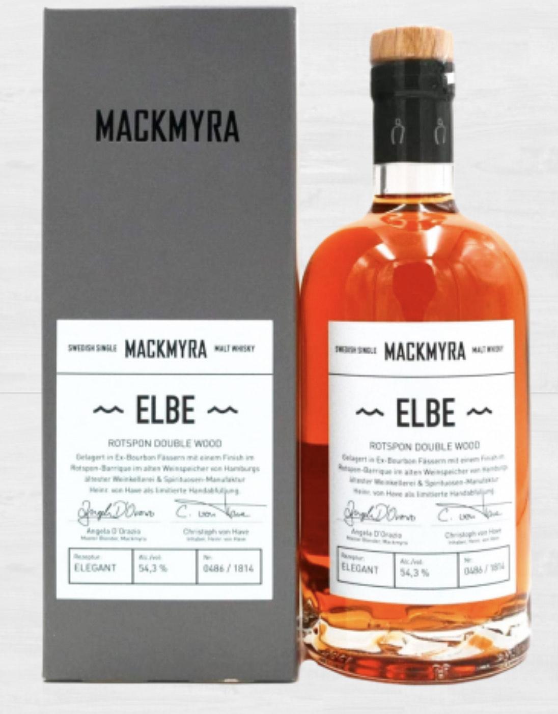 Mackmyra Elbe Single Malt Whisky 54,3%/ 0,5l