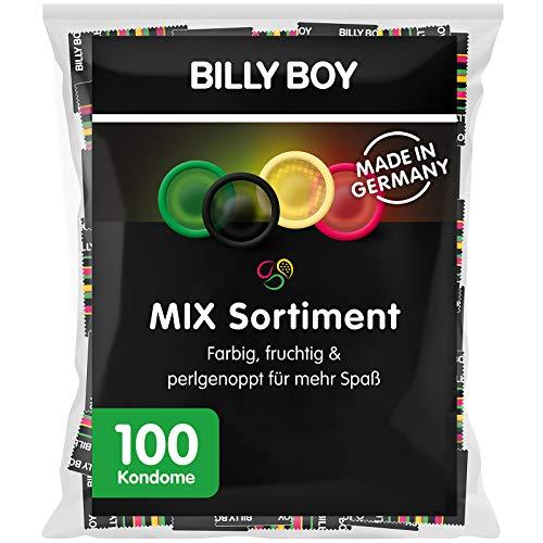 Amazon Prime: 100 Stück Billy Boy Kondome in verschiedenen Farben, Stückpreis liegt bei gerundet 17 Cent