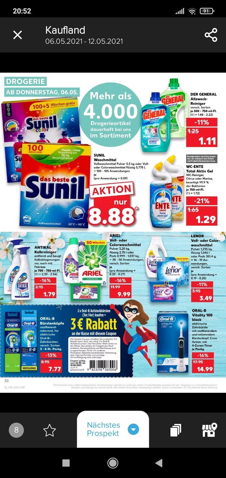 Kaufland WC Ente für 0,79 Euro Dank Coupies