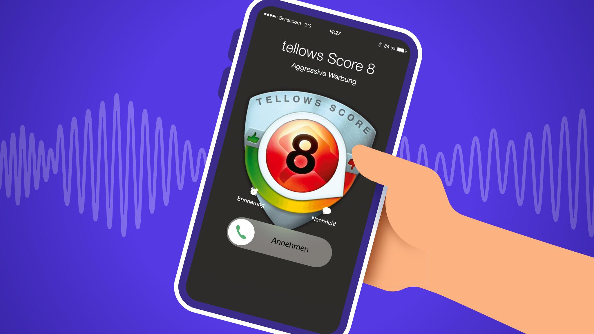 Tellows für das Handy 1 Jahr kostenlos Premium ( SPAM/Telefonterror abwehren ) IOS/Android