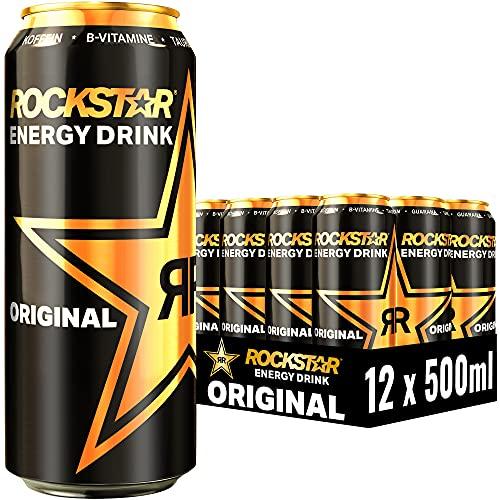 [Amazon Prime] Rockstar Energy Drink Original 12x500ml