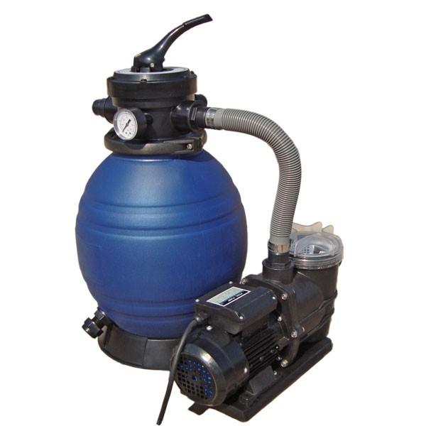 Mauk Pool Sandfilteranlage Poolpumpe, 25 Liter für Pools von bis zu 60 m3 @norma24