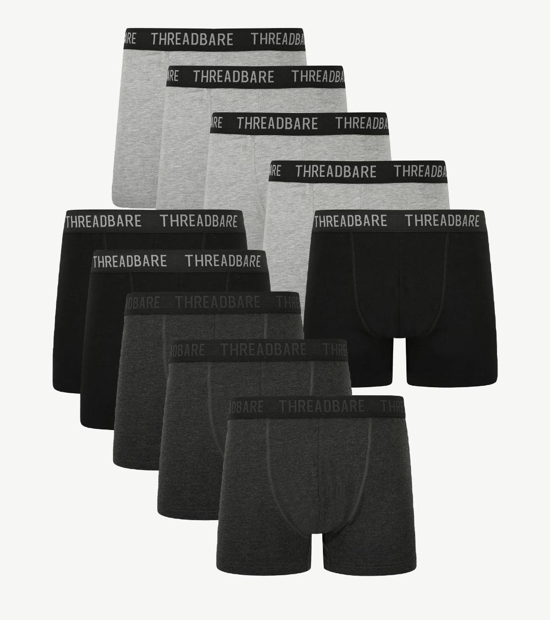 Mens Threadbare 10 pack Underwear Now €34.95 Free delivery @ Zalando