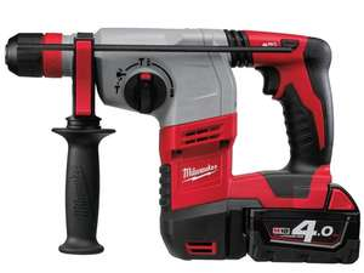 Milwaukee HD18HX-402C Bohrhammer   2x 4,0 Ah Akku   18V   SDS +