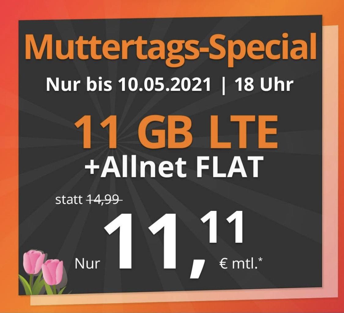 [PremiumSim] 11 GB LTE Muttertags-Special