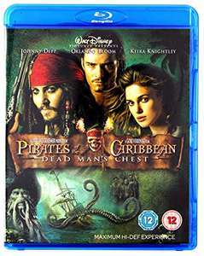 Pirates of the Caribbean – Fluch der Karibik 2 [Blu-ray] mit deutschem Ton (Prime)