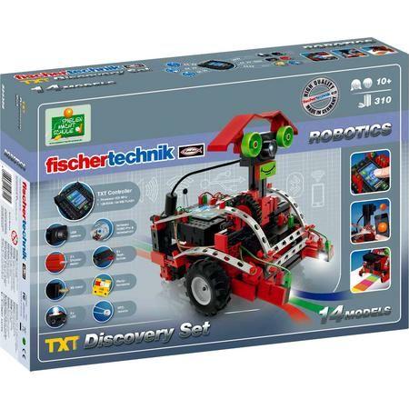Fischertechnik Roboter ROBOTICS TXT Discovery Set 524328 [SMDV & Voelkner & Digitalo]