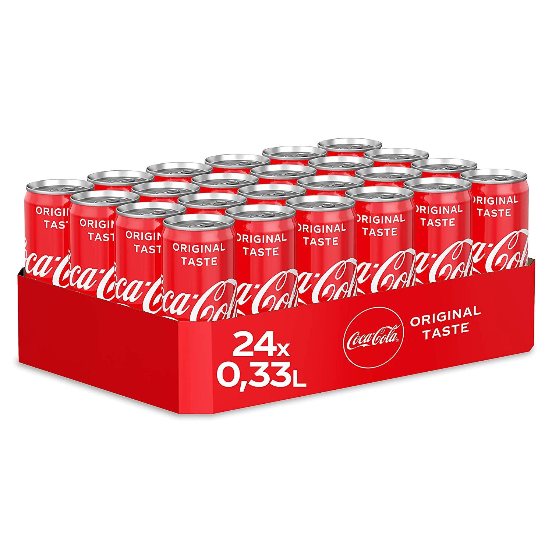 [Prime Sparabo] Coca-Cola Classic, zero, light oder Fanta EINWEG Dose, (24 x 330 ml) zzgl. 6,00€ Pfand