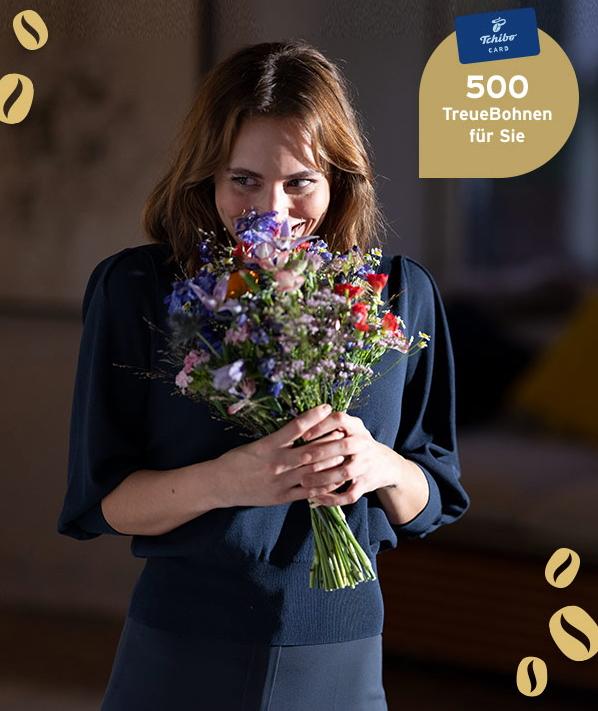 Tchibo | 500 TreueBohnen (Wert 5€) / TchiboCard Kunden | MBW: 25€ | Bis 9.5.2021