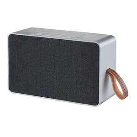 Grundig Bluetooth-Lautsprecher GSB 750 (25 W, 10 Stunden Akkulaufzeit, Multiroom, Freisprechfunktion, AUX) [Netto-online.de]