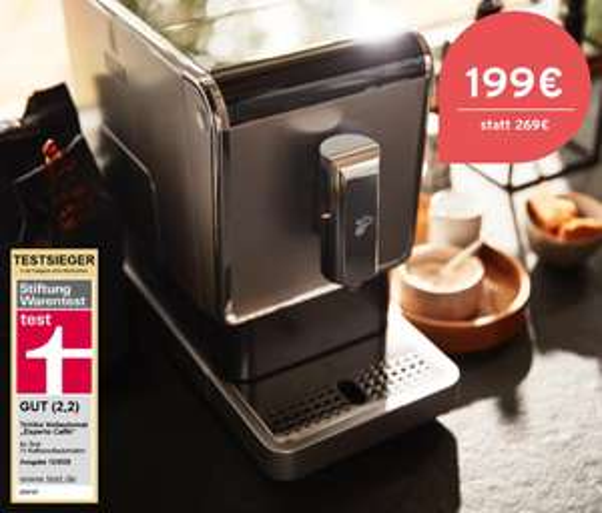 Tchibo Esperto Kaffeevollautomaten reduziert