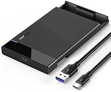 [Amazon Prime] UGREEN Festplattengehäuse 2,5 Zoll USB C 3.1 Gen 2 auf SATA III bis zu 6 Gbps
