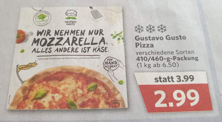 Gustavo Gusto Pizza [Combi]