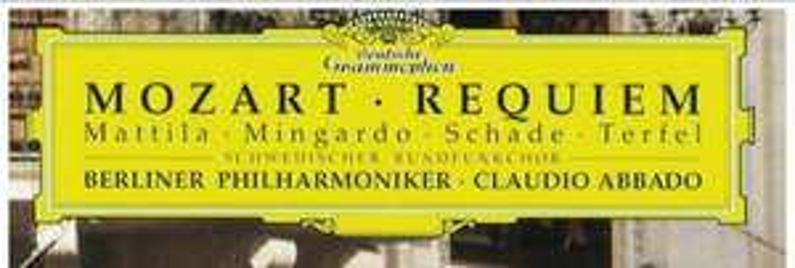 Musik CD: W. A. Mozart: Requiem KV 626 (Karajan Memorial, Salzburger Dom, 1999). (Als Konzertfilm kostenlos im Stream auf Bibel TV)