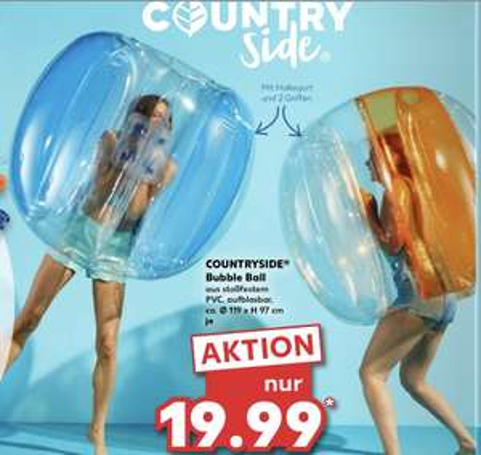 Kaufland Bubble Ball Countryside 19,99€